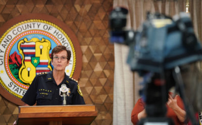 New Honolulu Police Policy On Using Force Aims To Defuse Tense Situations