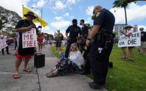 Hawaii State Capitol Protest Sees 3 Arrested