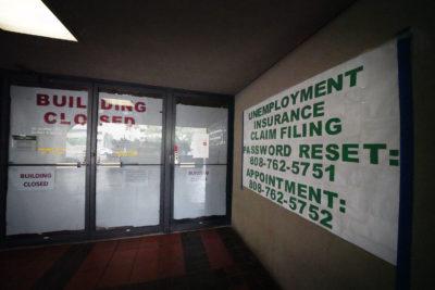 Hawaii Unemployment Office Plans To Open September 7
