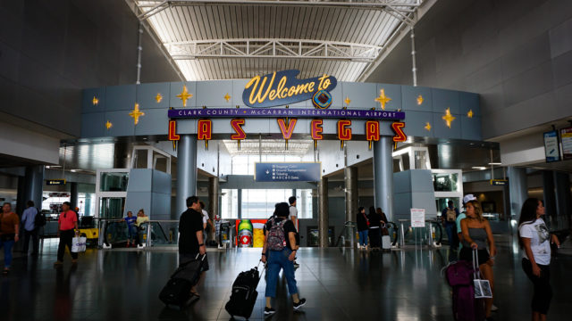 Offshore Far From Home Las Vegas Airport Welcome