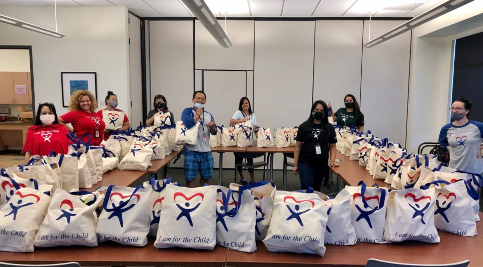 "The Friends of CASA -- Court-Appointed Special Advocates -- put together ""Aloha We Care"" packages for 89 families across Oahu, using donations from a variety of people and organizations."