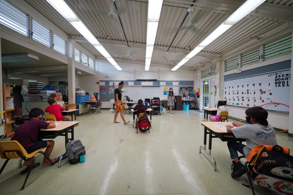 Here's How Hawaii Plans To Bring Kids Back To School This Fall