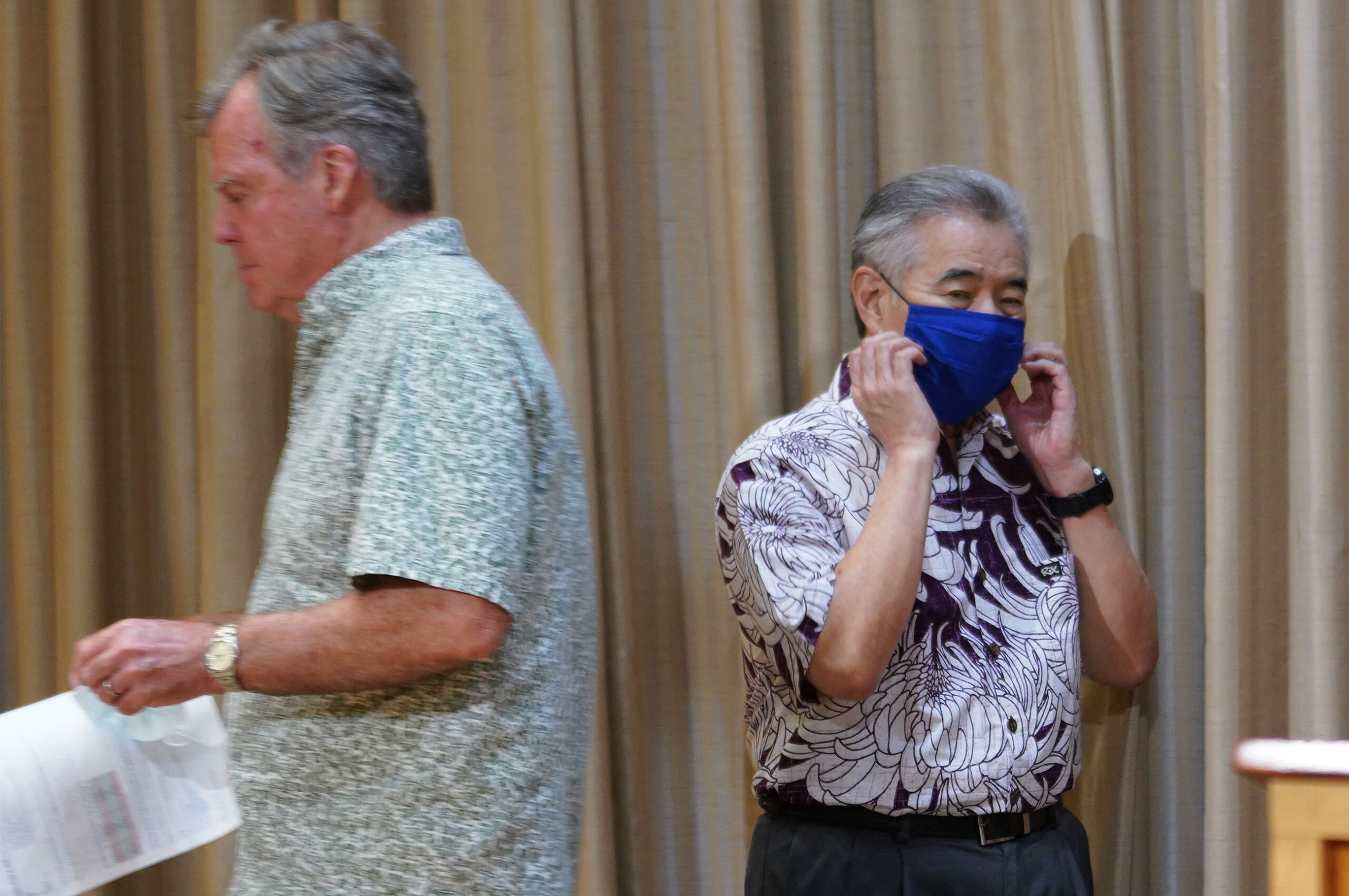 Governor David Ige COVID19 Dr Bruce Anderson press conference scaled.'