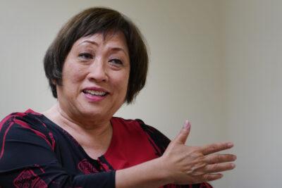 Colleen Hanabusa mayoral candidate.