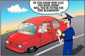 John Pritchett: Police Protection?