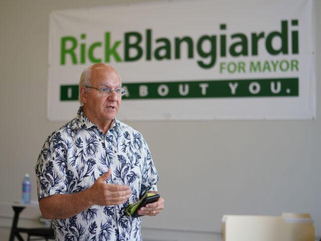 Honolulu Mayoral Candidate Rick Blangiardi.