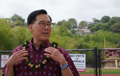 Keith Amemiya, 2020 Honolulu Mayoral candidate.