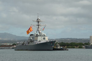 USS Preble Seized $40 Million Worth Of Cocaine On Counter Narcotics Mission