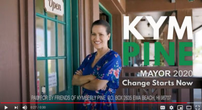 Kym Pine Touts 'Strong, Passionate' Leadership In Political Ad