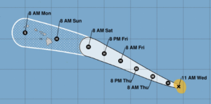 Hurricane Douglas Heading Toward Hawaii