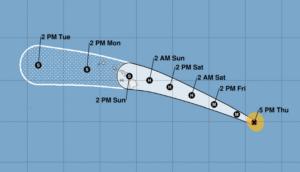 Hurricane Douglas Intensifies As It Approaches Hawaii