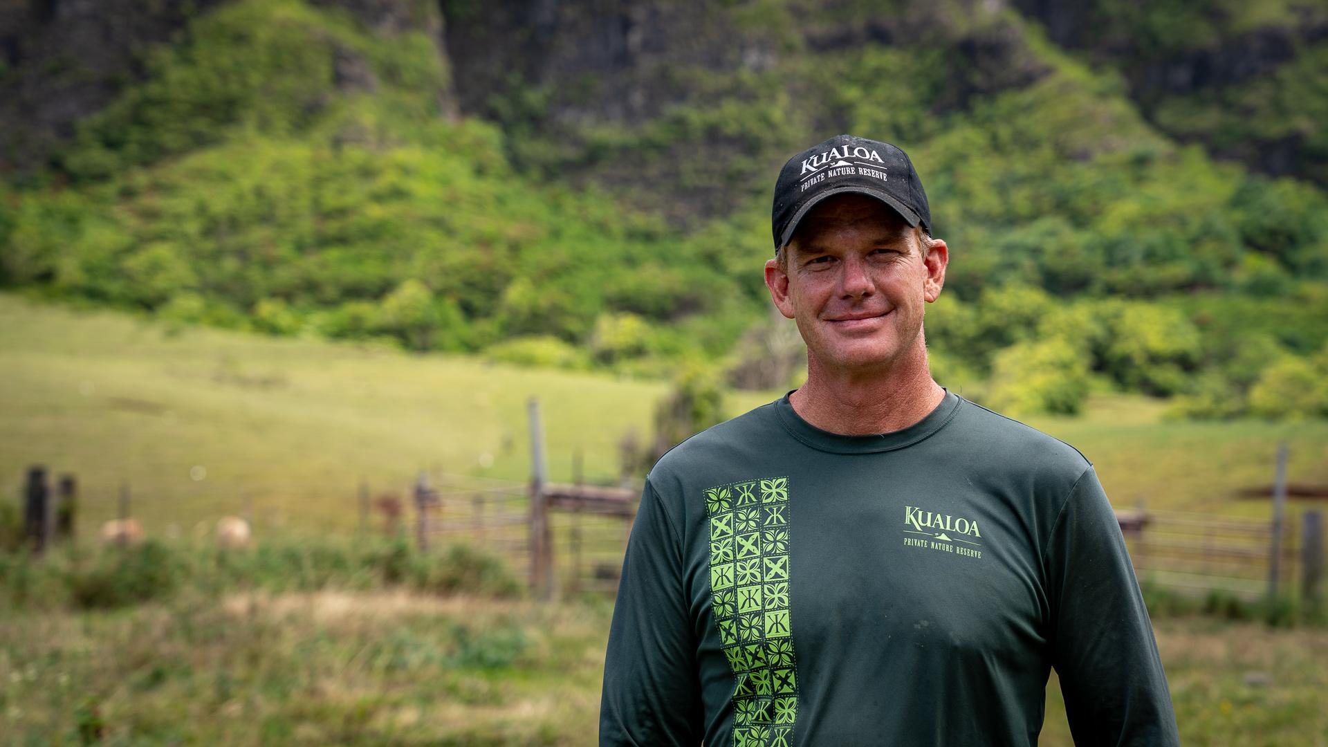Watersheds Agriculture Kualoa Ranch Taylor Kellermen Portrait