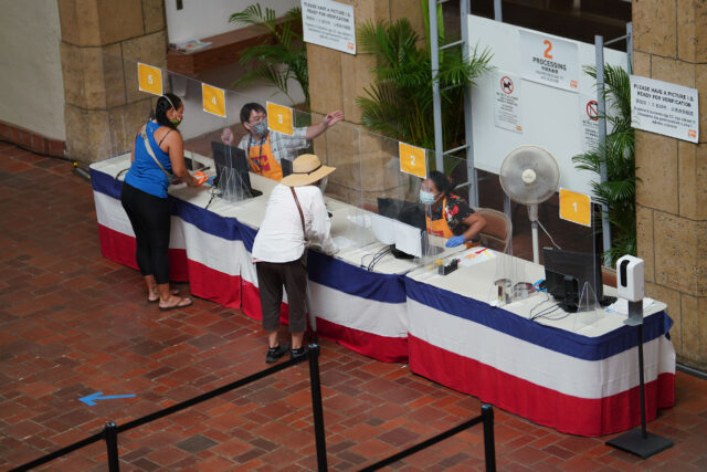 Honolulu Hale Voter Service Center.
