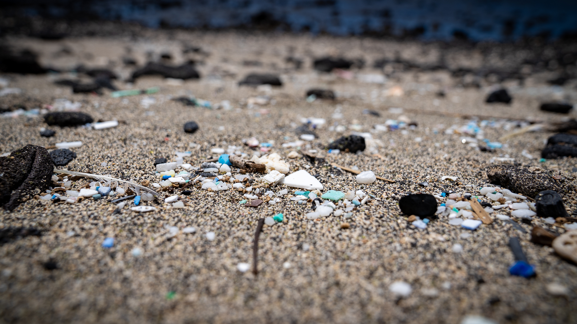 Kamilo Beach Cleanup Microplastics Sand