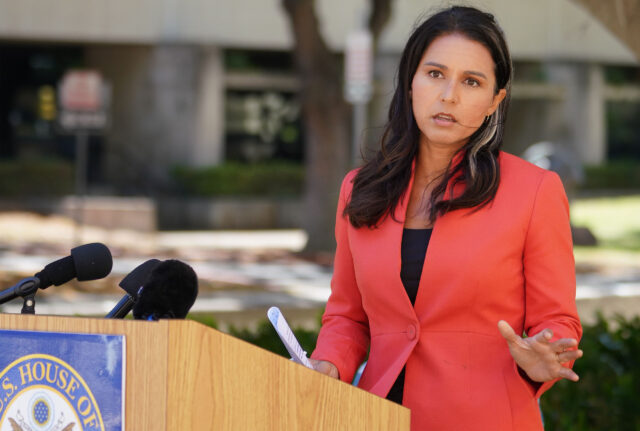 Congresswoman Tulsi Gabbard press conference sharing some background on a whistleblower that came forth and shared that the DOH did not have the staff to do contact tracing. August 14, 2020