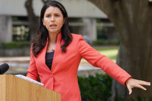 Congresswoman Tulsi Gabbard press conference announcing a future congressional inquiry into the whistleblower at the Department of Health, Epidemiologist Dr. Jessica Smith's accusations about the lack of contact tracing staff. August 14, 2020