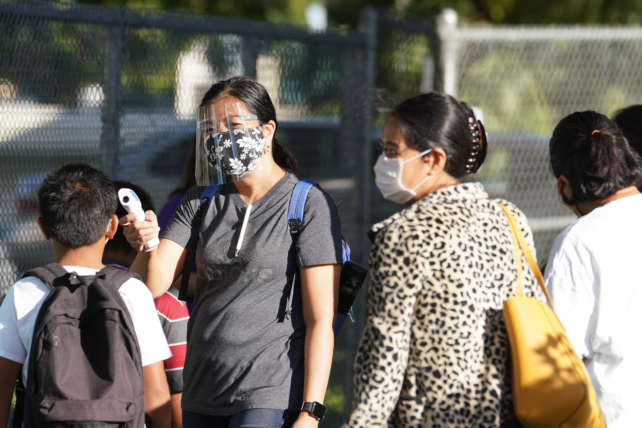 <p>Kauluwela Elementary and other schools started in-person classes in August just before COVID-19 cases began to spike.</p>