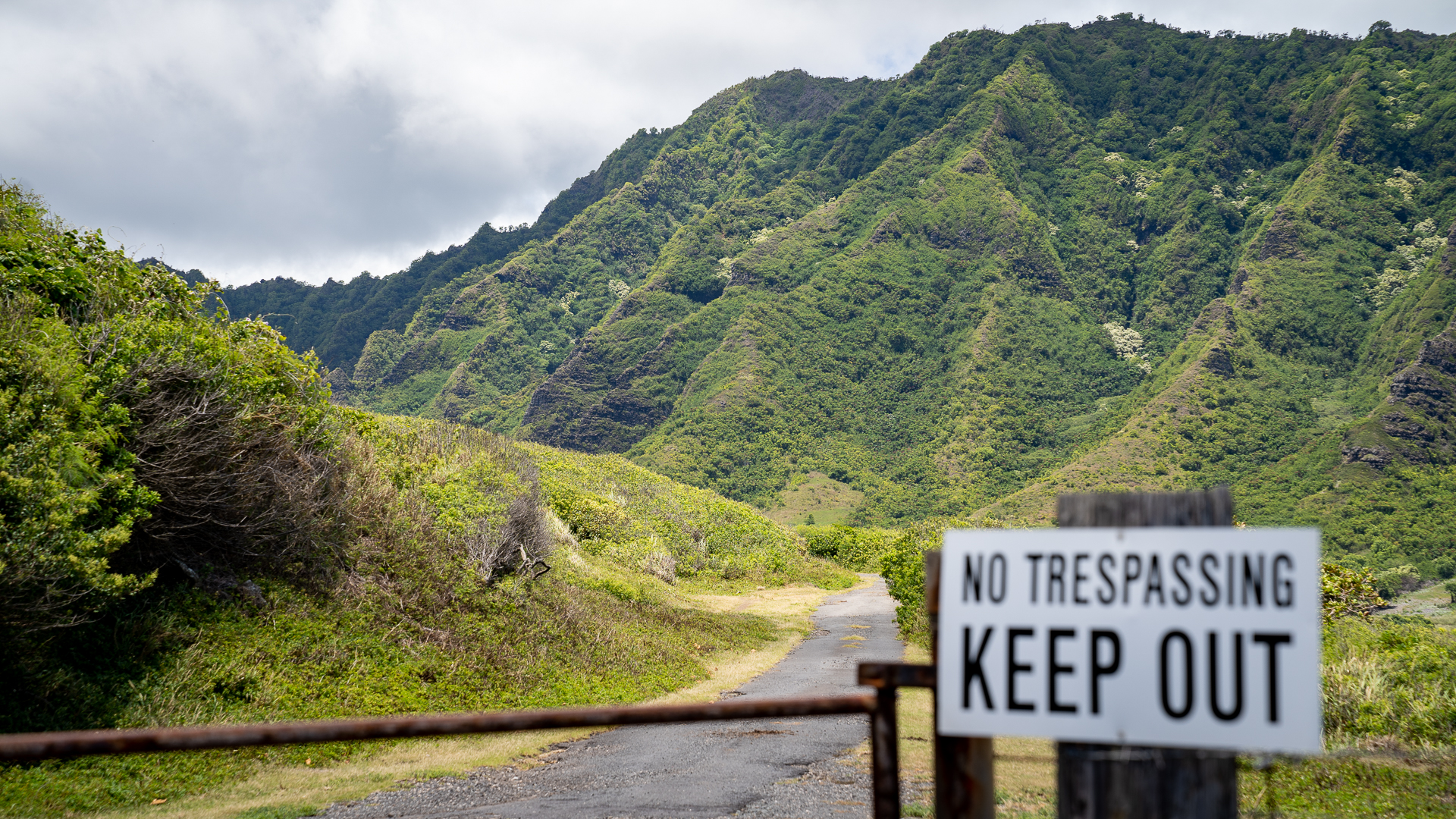 Watersheds Kualoa Ranch Trespassing