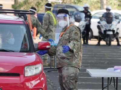The Hawaii National Guard's Covid Task Force Is Extended Through December