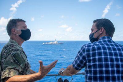Defense Secretary Visits Hawaii For RIMPAC
