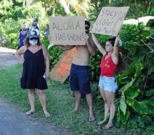 Protesters Vandalize Kauai Home Rented By Religious Cult, Police Say