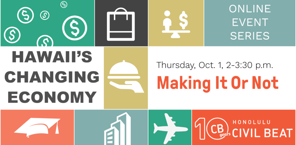 PSA – Event: Econ – Making It Or Not 10/1
