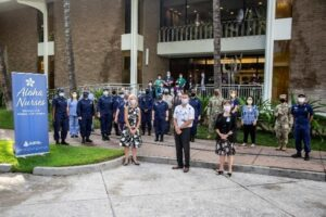 Federal COVID-19 Medical Team Arrives In Hawaii