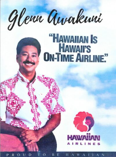 Hawaiian Air flight attendant