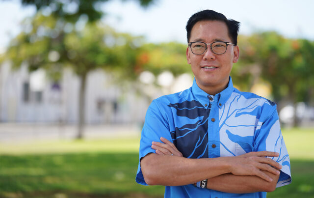 Honolulu Mayoral candidate Keith Amemiya.