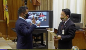 Alan Texeira Sworn In To Replace Ikaika Anderson