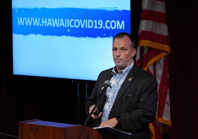 Lt Governor Josh Green shares that all arriving passengers to Hawaii on October 15, 2020 will need to register at www.hawaiicovid19.com and have a negative COVID-19 test before arriving.