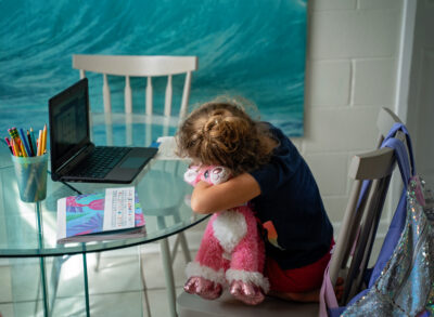 Military Family Struggles To Find School Routine That Works