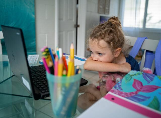 Amelia Ross, New Classroom, distance learning, education, school
