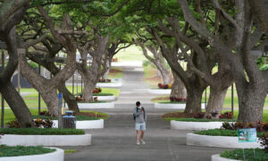 'Stressed And Overwhelmed': Hawaii's College Students Confront The Pandemic