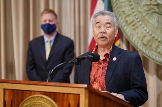 Governor David Ige announces his nomination of Judge Todd Eddins for Hawaii Supreme Court. October 23, 2020