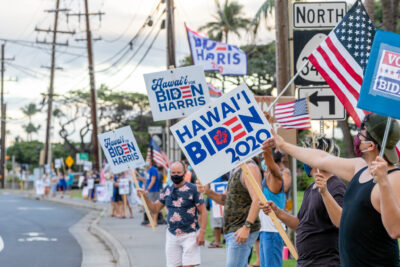Biden Easily Won Hawaii But Data Shows Support For Trump Has Grown
