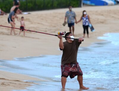 The Fish — And Fishermen — Are Back At Ala Moana Beach. Swimmers Are Not Happy