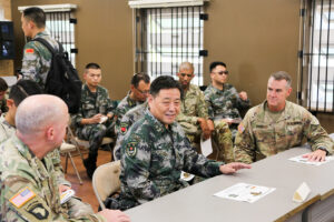 American Troops Train Remotely With Chinese Army From Schofield