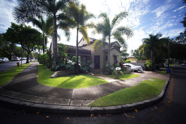 3007 Hibiscus Drive on the corner of Poni Moi.