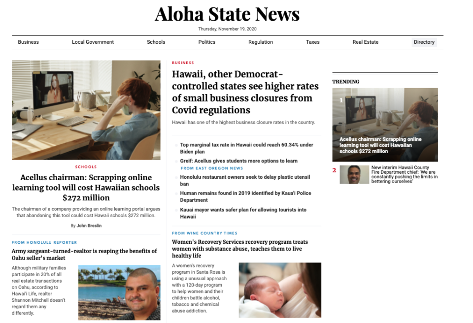 Chad Blair: Pay-To-Play 'Journalism' Is Now In Hawaii