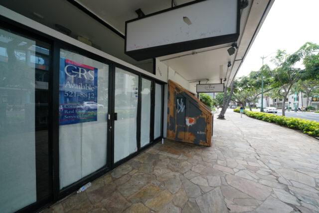 GRS Available at 2166 Kalakaua Avenue during COVID-19 pandemic.