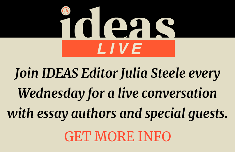 Join host Julia Steele Wednesdays for a livestream conversation on Facebook Live