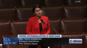 Gabbard, Case Vote To Decriminalize Marijuana