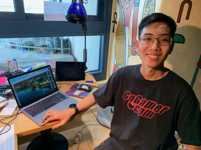 Yanhang Ian Zhang, Roosevelt High, school, classroom, distance learning, return to school