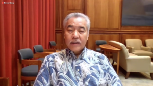 Gov. Ige Says He Doesn't See How State Government Can Avoid Layoffs