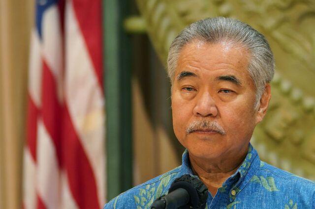 Governor David Ige during his budget press conference, governor shares about how he was going to balance the budget during COVID-19 pandemic.
