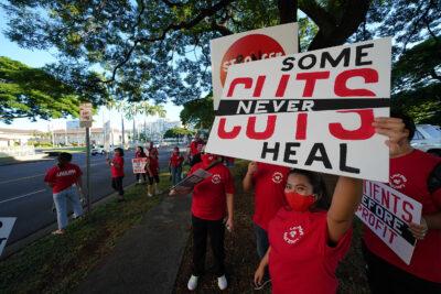 Kapiolani Nurses Vote To Strike After Unsuccessful Negotiations