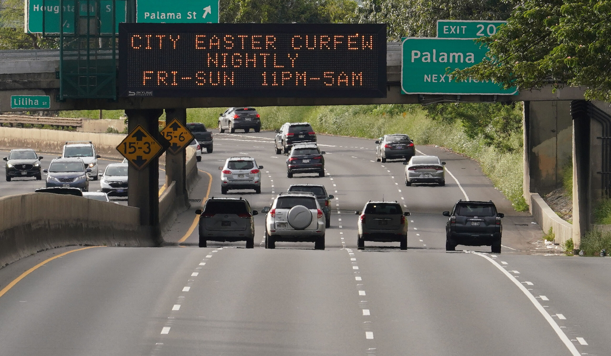 <p>Honolulu Mayor Kirk Caldwell instituted a curfew for Easter weekend due to the pandemic. The rules prohibited people from driving between the hours of 11 p.m. and 5 a.m. to slow the virus' spread.</p>