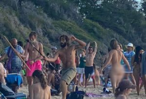 Hawaii Closes Beach On Maui After Large Mask-Less Parties