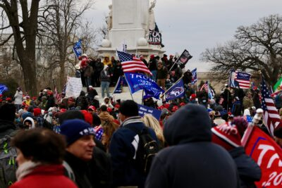 Our DC Reporter Had A Close-Up View Of The Mob Taking Over The Capitol